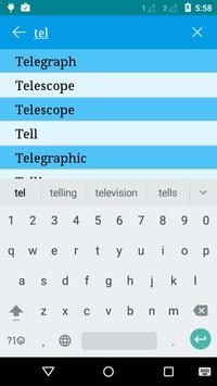 English to Telugu and Hindi apk screenshot