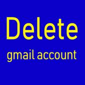 Delete Gmail icon