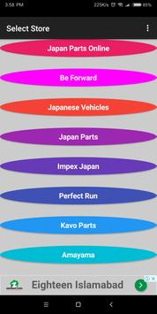 Buy Auto parts in Japan. Car Parts in Japan poster