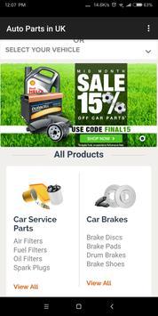Buy Auto Parts in UK screenshot 5