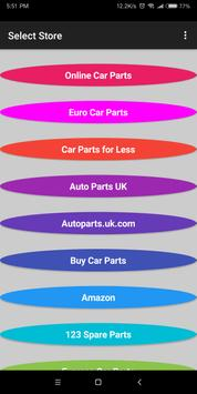 Buy Auto Parts in UK poster
