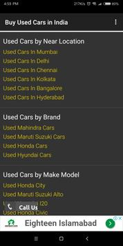 Buy Used Cars in India screenshot 4