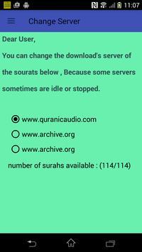 The Holy Quran mp3 (Voice Saad Alghamidi) no ads screenshot 13