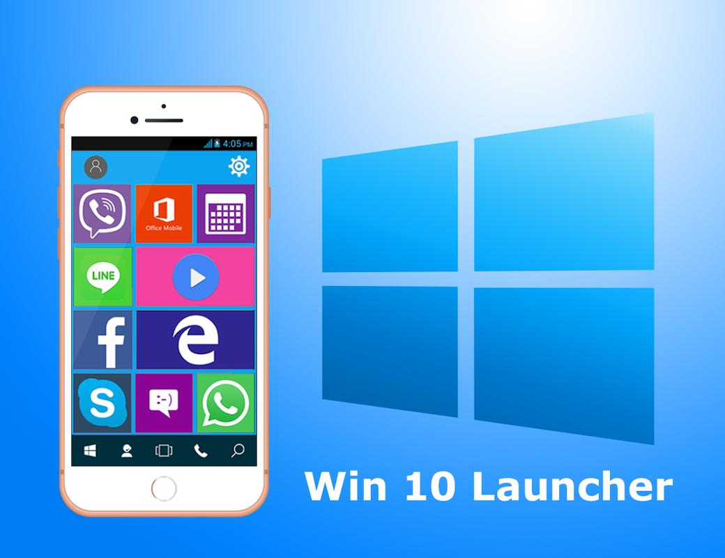 Windows 10 launcher for android | Install a Windows 10