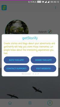 getStorify screenshot 7
