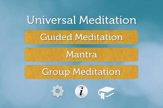 Universal - Meditation apk screenshot