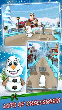 Frozen Land Magic Snow Run apk screenshot