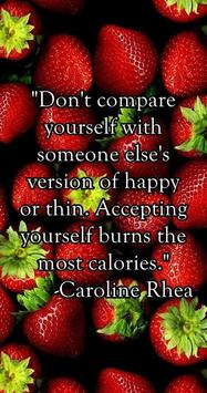 Diet Quotes - images apk screenshot