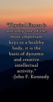 Fitness Quotes & Sayings apk screenshot