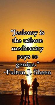 Jealousy Quotes & Sayings apk screenshot