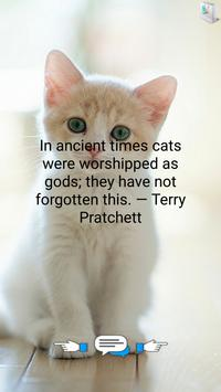 Greatest Quotes About Cats apk screenshot