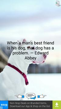 Quotes About Dogs apk screenshot