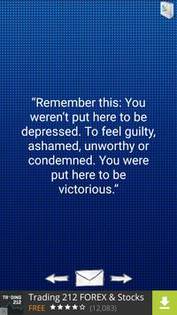 Quotes about Depression apk screenshot