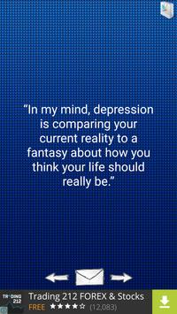 Quotes about Depression poster