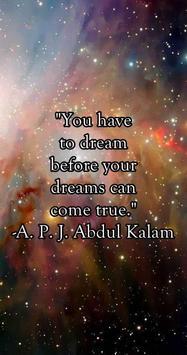 Quotes about Dreams apk screenshot
