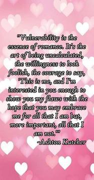 Romantic Quotes - images apk screenshot