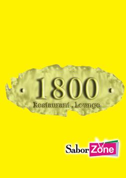 1800 Restaurant Lounge poster