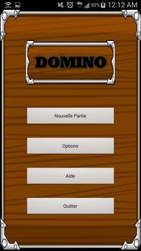 لعبة الدومينو الكلاسيكية الملصق
