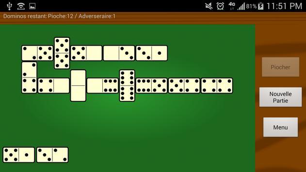 لعبة الدومينو الكلاسيكية تصوير الشاشة 1