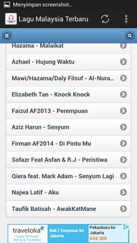 Lagu Malaysia Terbaru screenshot 3