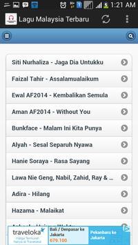 Lagu Malaysia Terbaru screenshot 2