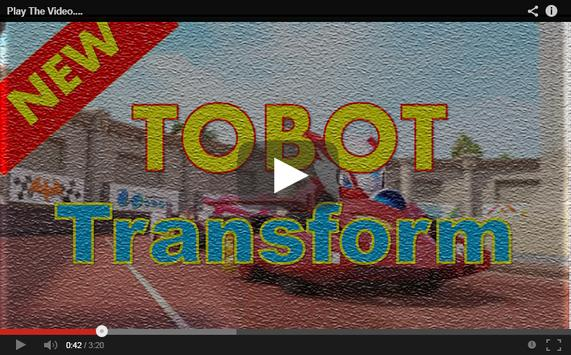 New TOBOT Video apk screenshot