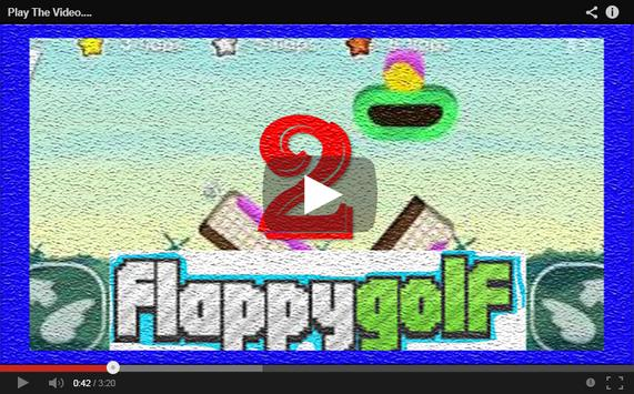 Video FlappyGolf Channel poster