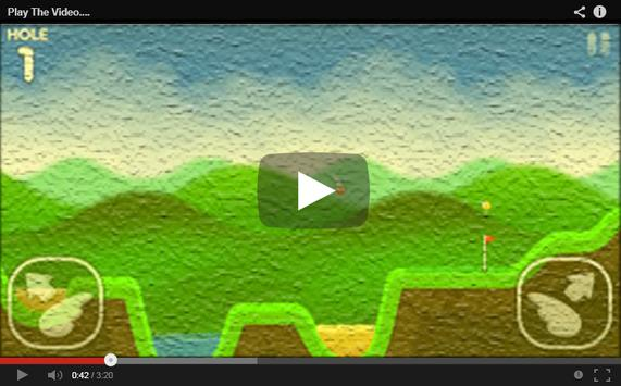 Video FlappyGolf Channel apk screenshot