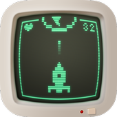 Space 8 bit icon