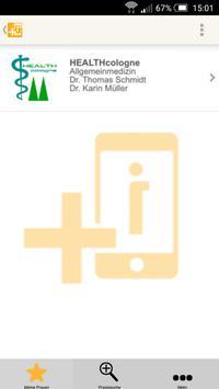 Praxis Dr Afrim Mamudi Köln poster
