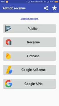 Admob revenue screenshot 1
