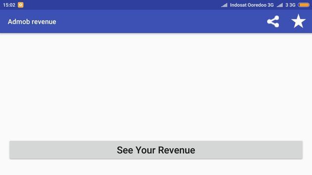 Admob revenue screenshot 2