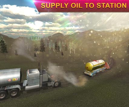 Heavy Oil Tanker Truck Transporter Simulator 17 screenshot 3