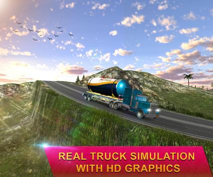 Heavy Oil Tanker Truck Transporter Simulator 17 poster