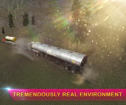 Heavy Oil Tanker Truck Transporter Simulator 17 apk screenshot