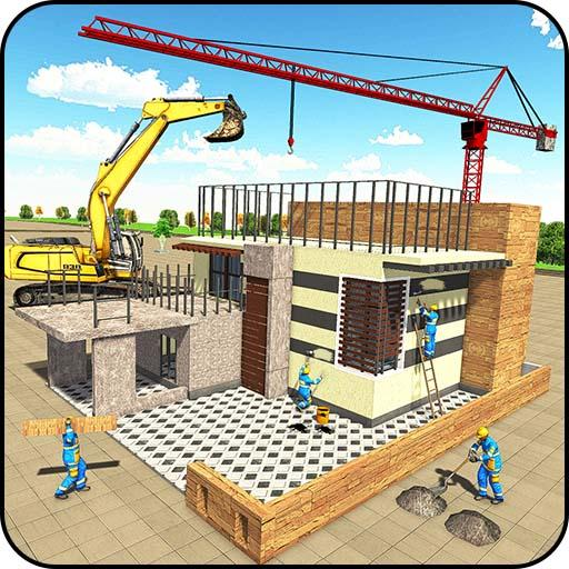 Modern House Construction 3D