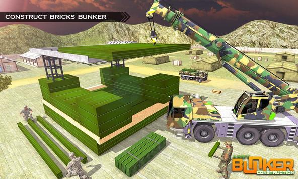 Army Bunker Construction poster