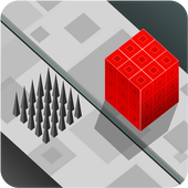 Blocky travelller : Cube kube icon