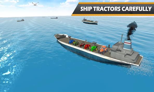 Tractor Cargo Ship Transport screenshot 1