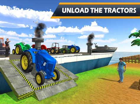 Tractor Cargo Ship Transport screenshot 6