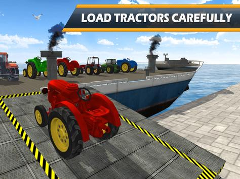 Tractor Cargo Ship Transport screenshot 7