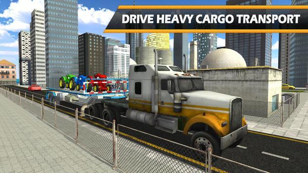 Tractor Cargo Ship Transport apk screenshot