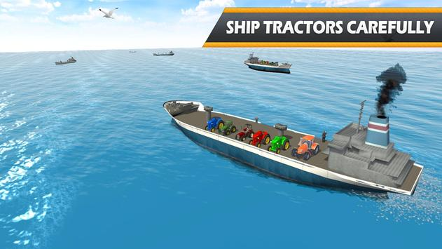 Tractor Cargo Ship Transport screenshot 9