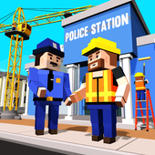 City Police Station Builder icon