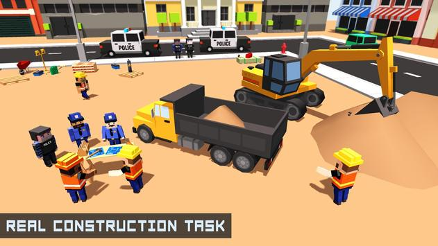 City Police Station Builder apk screenshot
