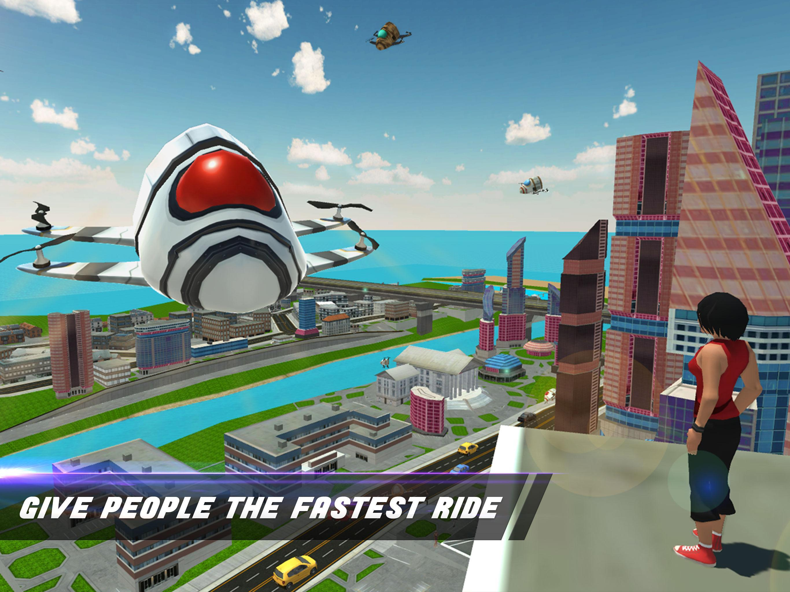 Dubai Taxi Drone Flying Car 2018 For Android Apk Download