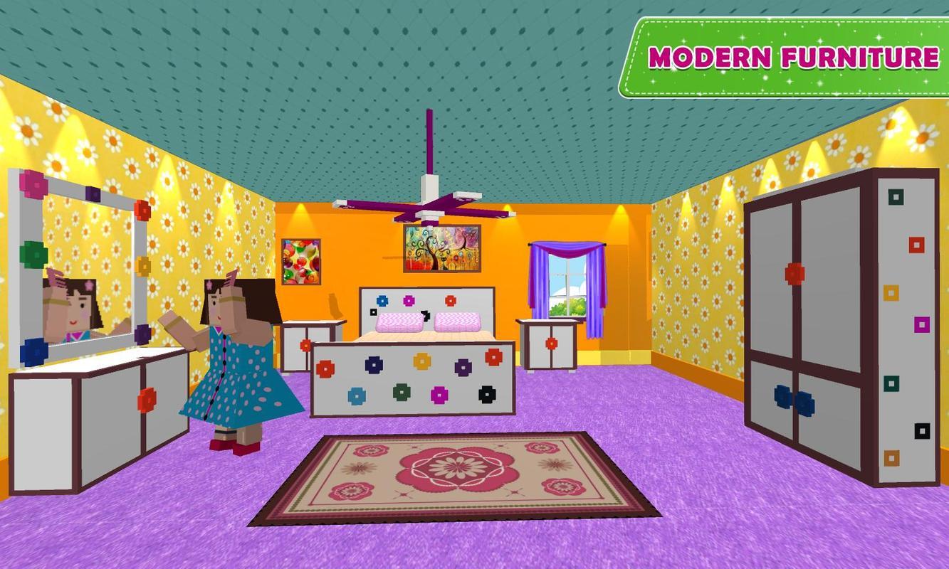 doll house design decoration 2 girls house game for android apk download. Black Bedroom Furniture Sets. Home Design Ideas