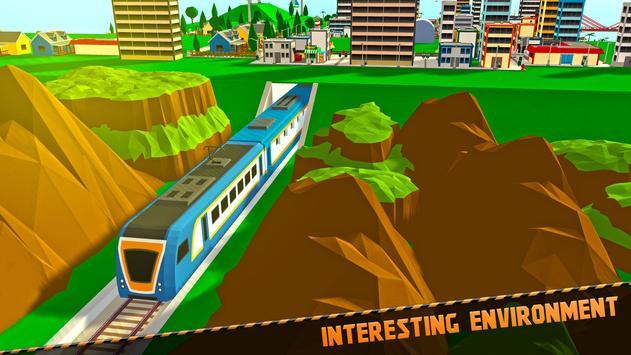 Stadt U-Bahn Bauen & Reiten: Eisenbahn Handwerk Z Screenshot 9