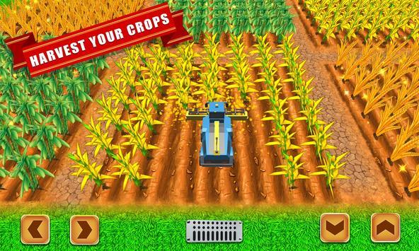 Farmer Village Country Life 🏡 screenshot 2