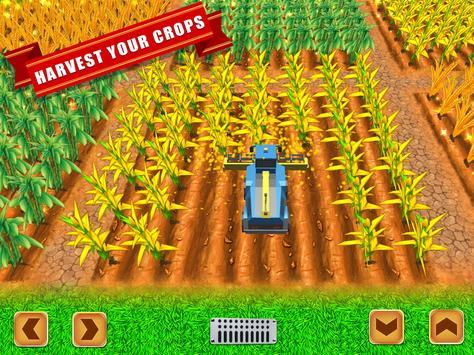 Farmer Village Country Life 🏡 screenshot 6
